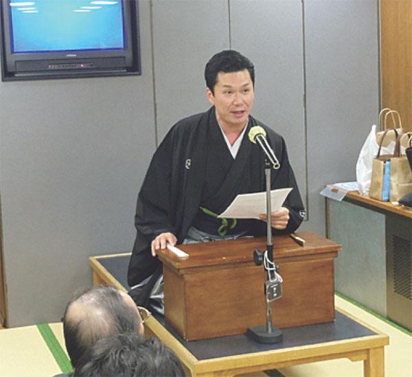 神田山緑講談師